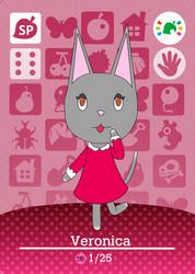 Veronica Amiibo Card