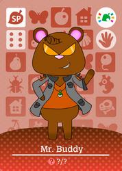 Mr. Buddy Amiibo Card