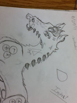 Ryuu, Damion's Third Familiar