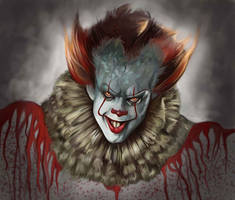 Pennywise the Clown  by giberin