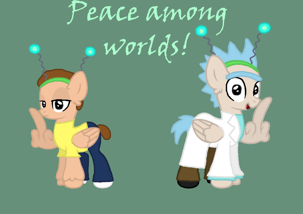Mlp R And M Peace Among Worlds