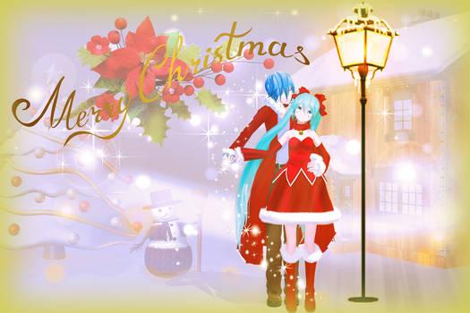 Christmas(Kaito and Miku)