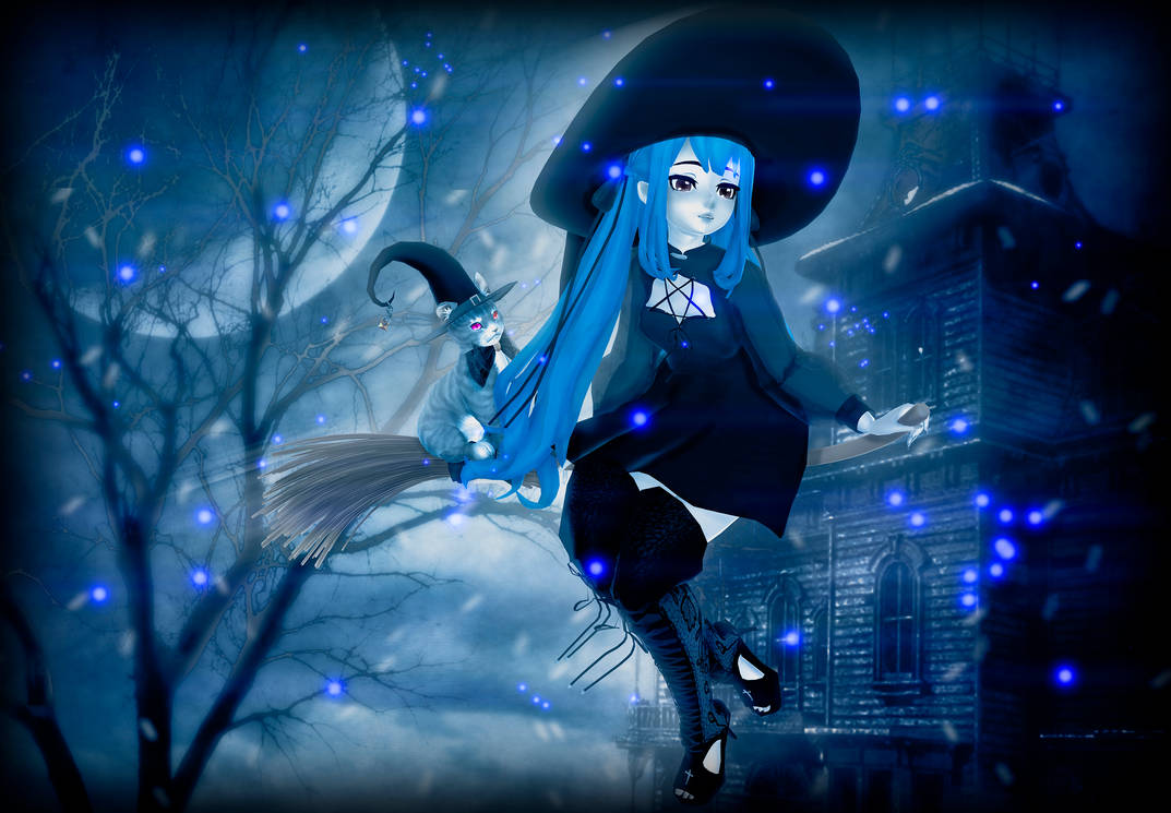 MMD/OC Eirena witch