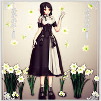 MMD/OC Devona (Elf) oriental style
