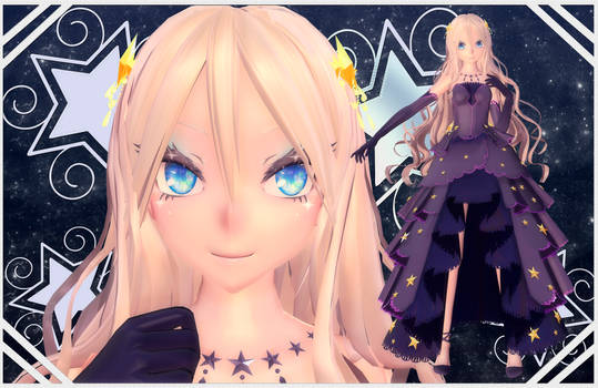 MMD/OC Edlynne Salvattore star sea outfit