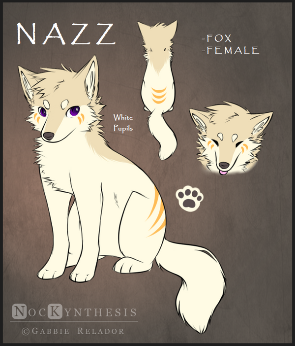 .:2014 Nazz Reference Sheet:. by NocKynthesis