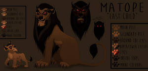 Zira's Father: Matope ~ Contest Entry For MalisTLK by HeadlessLioness