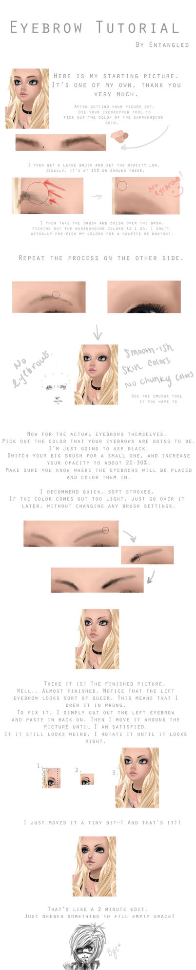 Eyebrow Tutorial by NyappyInTheWorld4