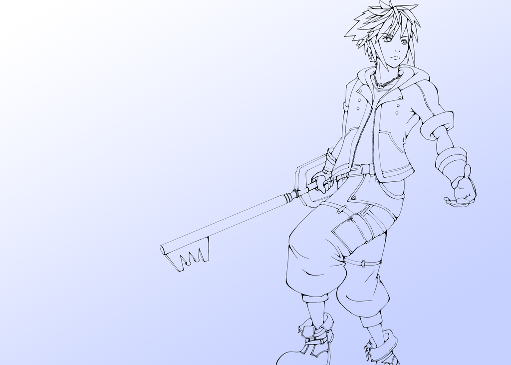 Kingdom Hearts 3 Sora New Outfit by Argus1002