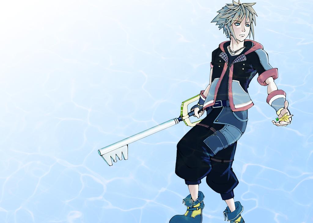 Sora Kingdom Hearts Lineart : Kingdom hearts sora new outfit by argus on deviantart