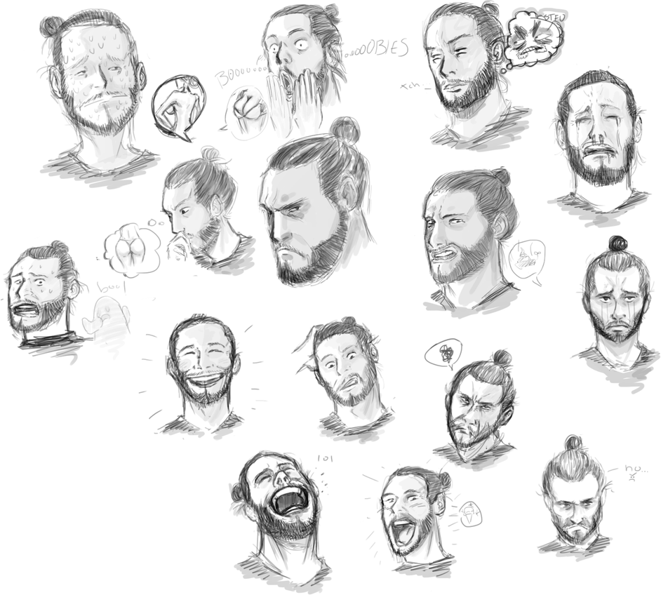 Facial Expression Practice by Argus1002