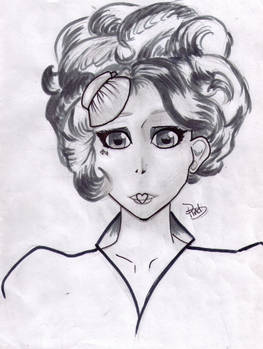 Darkened Effie Trinket, Manga
