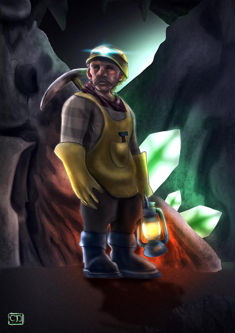 Dwarf Miner by cagdasdemiralp