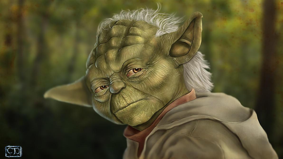 Master Yoda by cagdasdemiralp