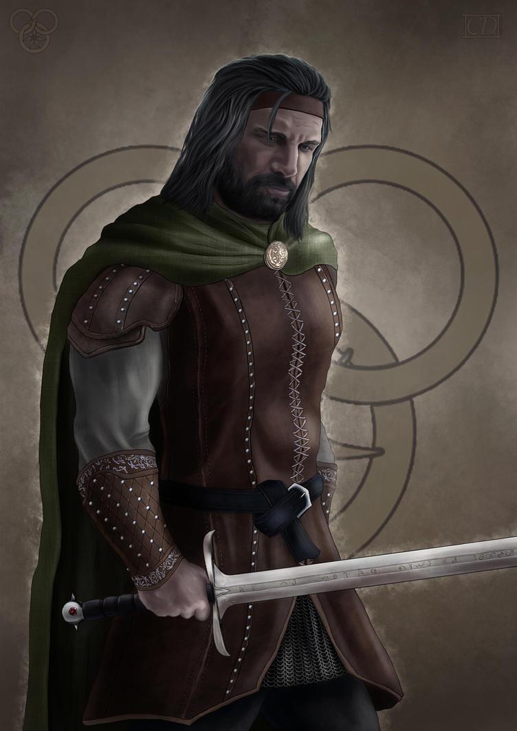 al'Lan Mandragoran by cagdasdemiralp