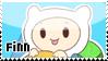 Finn chibi stamp