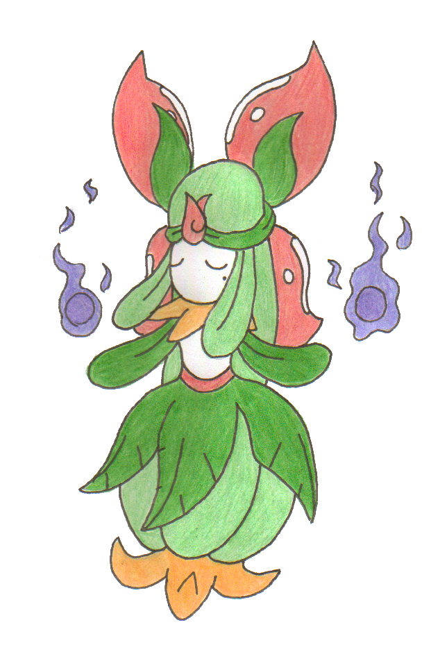 Image Gallery lilligant evolution