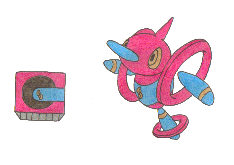 Pokemon Porygon Z Evolution Images | Pokemon Images