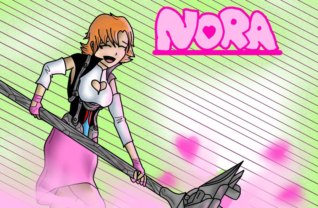 Nora Valkyrie by pinappleninja