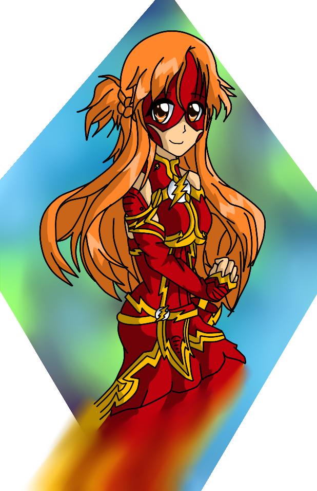 Asuna the Flash by pinappleninja