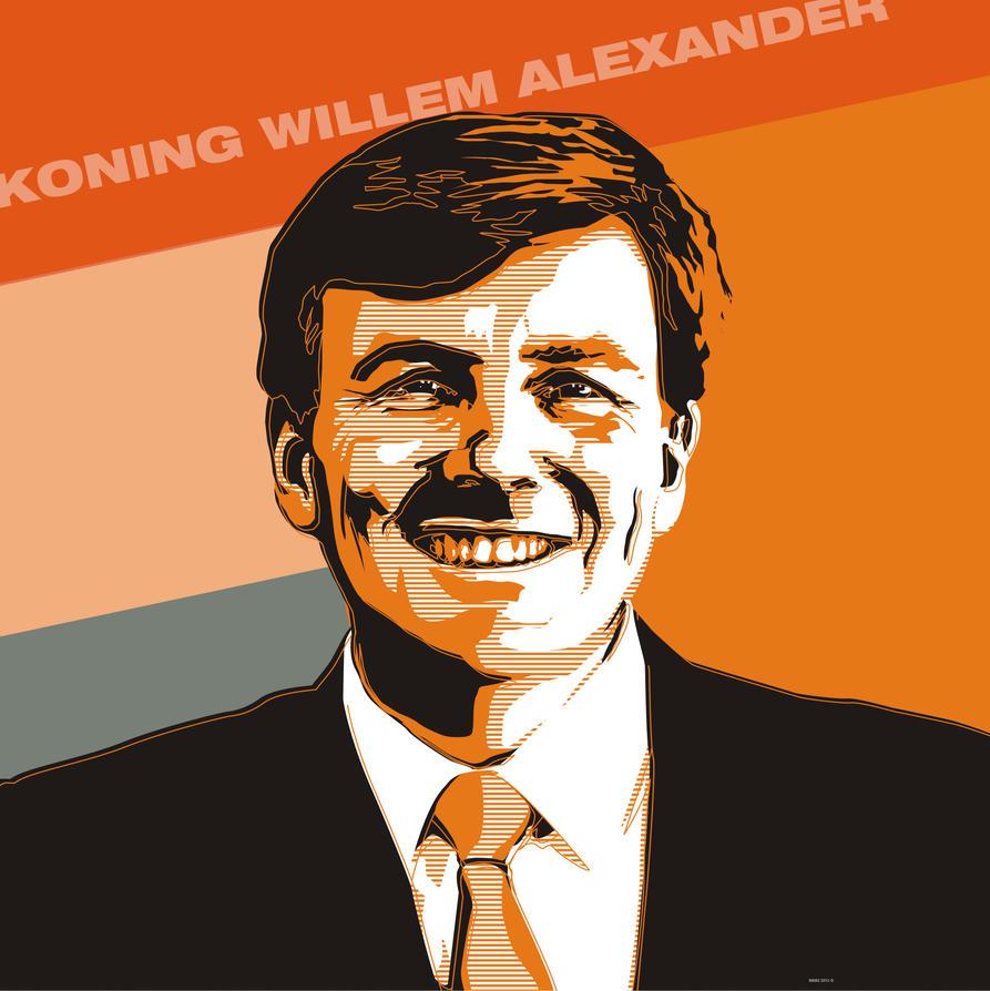 Koning Willem Alexander by MAikz-creaz