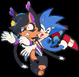 Nicole and Sonic