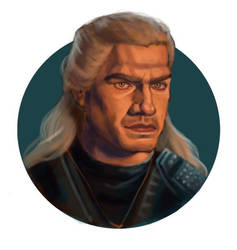 Geralt of Rivia by HatsukiOwil