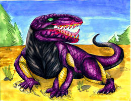 Erythrosuchus by gugi40