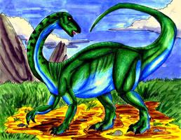 Euskelosaurus by gugi40