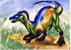 Pisanosaurus by gugi40