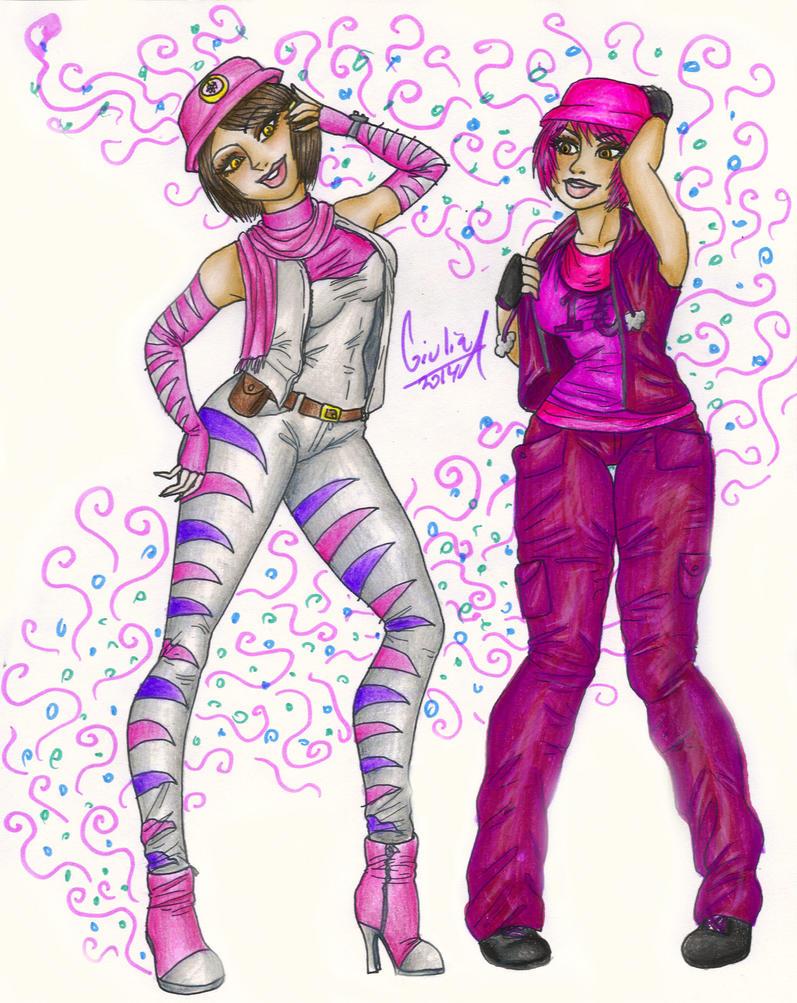 Aelita and Kari by gugi40