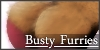 Busty Furries Stamp by W-Incantation