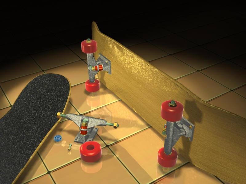 3d sk8 board 1 by sidewalksurfer