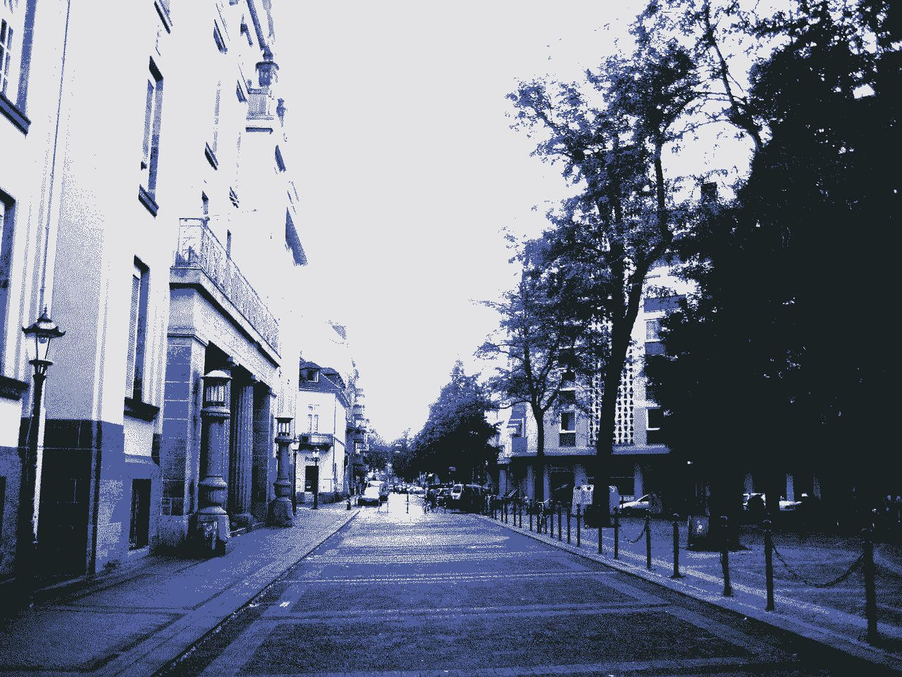 Just a street in karlsruhe by decoxx on deviantart for Outlet store karlsruhe