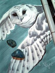 Inktober 2 - Owl