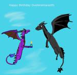 B-day Gift Dusteramaranth by Cynderthedragon5768