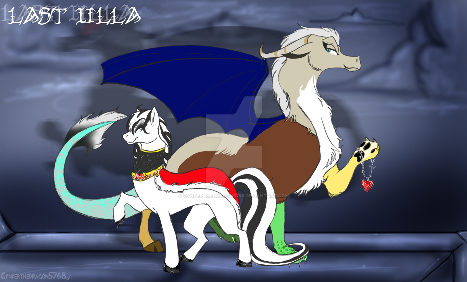 MLP FIM: Lady Iilla reference by Cynderthedragon5768