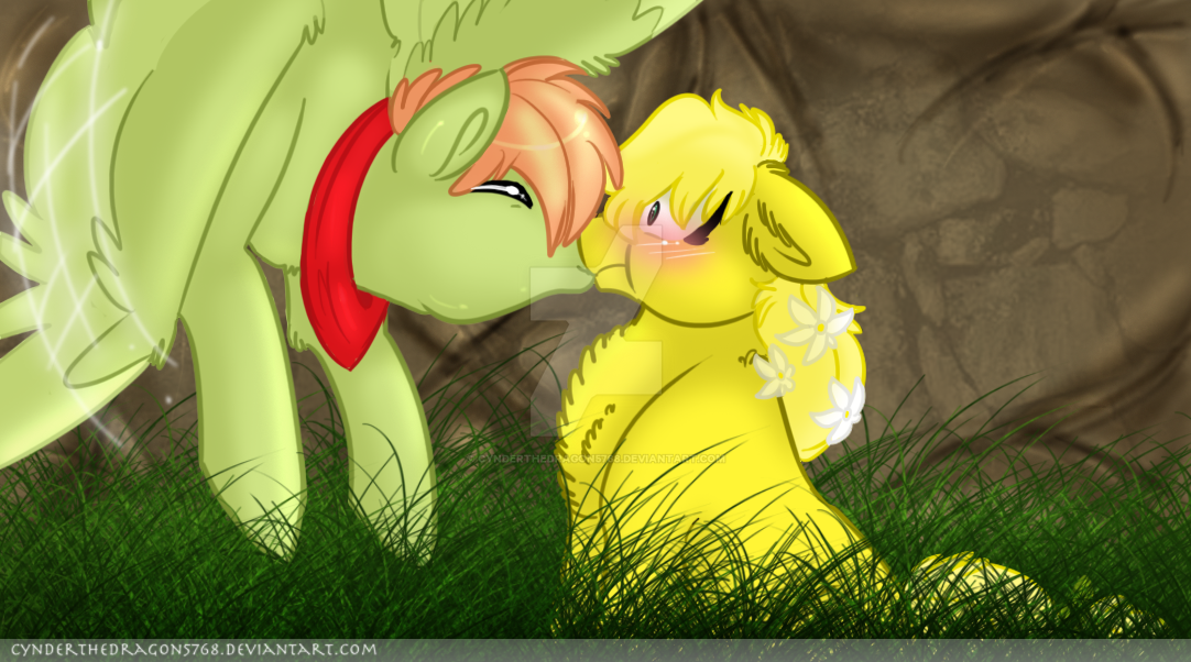 surprise kiss mlp ych open by cynderthedragon5768 on deviantart