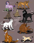 Adopted lion characters