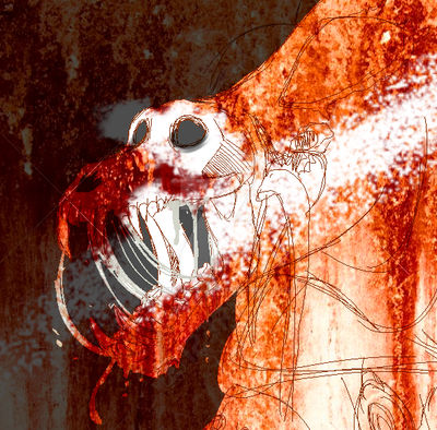 Bleeding baboon Icon