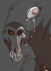 seeping skull