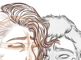 detailing hair
