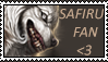 Safiru fans stamp by Alyshywolfyarty