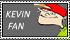 Kevin Fan Stamp by Alyshywolfyarty