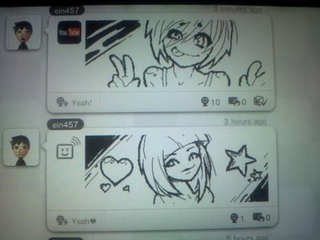 My Wii U drawings