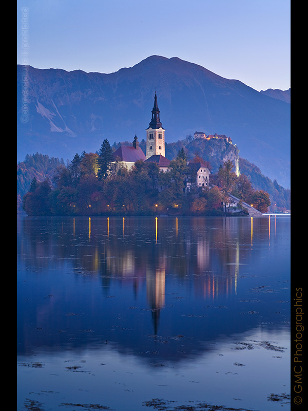 Pre-Dawn over Lake Bled by GMCPhotographics