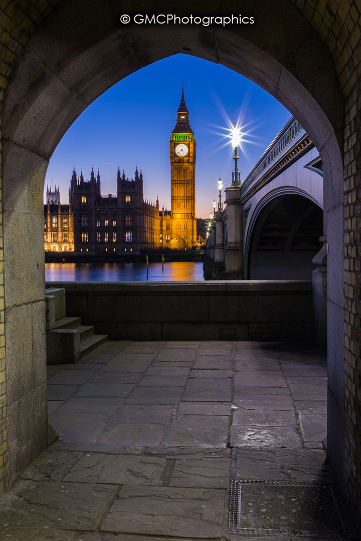 Archway over Westminster by GMCPhotographics