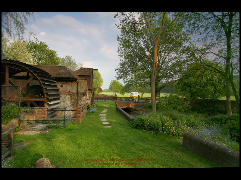 High Wycombe Water Mill by GMCPhotographics