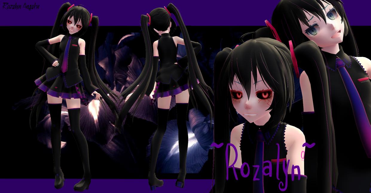 [MMD - Model] ~Tda Rozalyn Angaku~ by RozalynAngakuCat