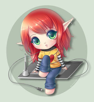 .:On a tablet:.